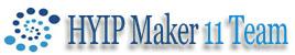 HYIP Maker 11 Team